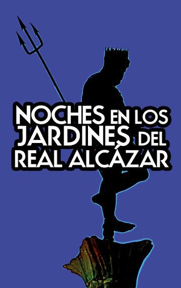 cartel de Noches en los jardines del Alcázar - XVII Conciertos - 2016